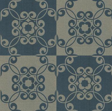 Mosaic Mix Blue Two